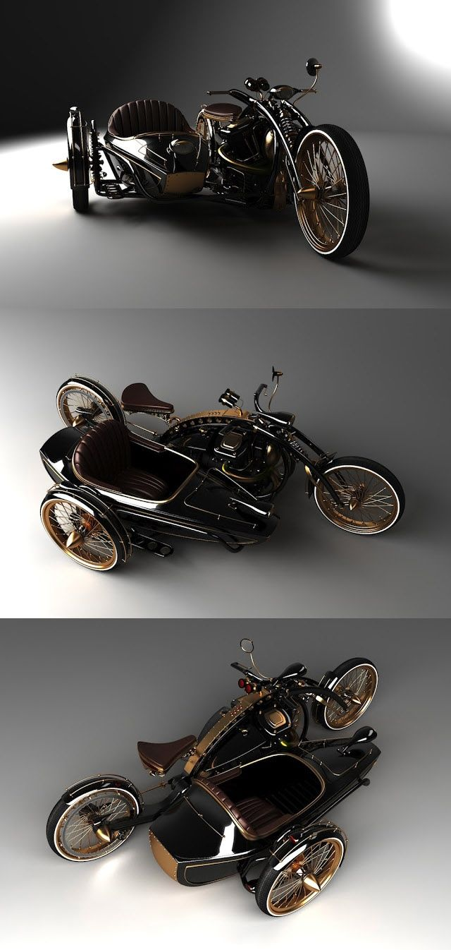 The Black Widow: A Street-Legal Steampunk Motorcycle You Can Order Today!