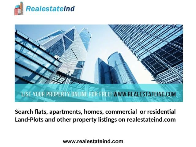 Presenting International Property portal offers to Buy, Sell, Rent & List properties as per your location. Search for flats, Apartments, Homes, Commercial, Land-Plots and other property listings on www.realestateind.com