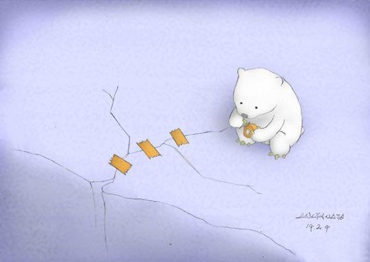 Please Stop Global Warming. This saddens my soul so much