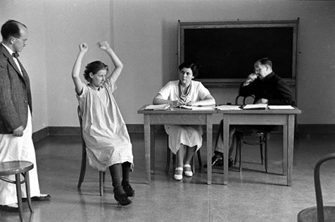 Alfred Eisenstaedt—Time & Life PicturesGetty Images Pilgrim state hospital, Brentwood, NY, 1938