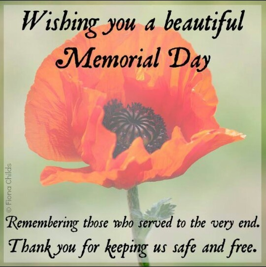 memorial day email cards