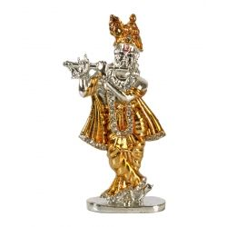 Golden & Silver Table Top Murli Krishna