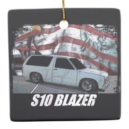 1993 S10 Blazer Ceramic Ornament - classic gifts gift ideas diy custom unique