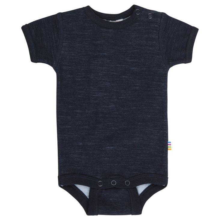 Joha Wolly Navy Bodysuit Short Sleeve