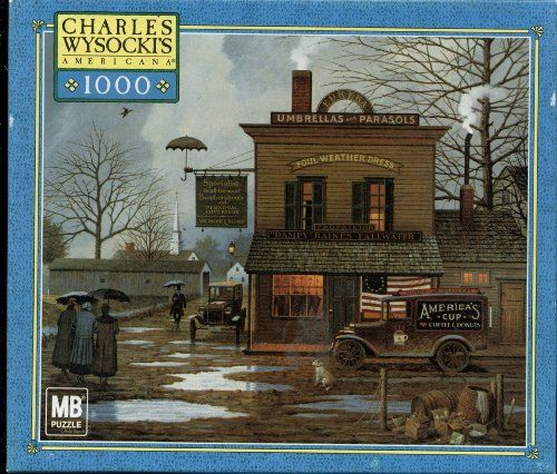 276 Best Charles Wysocki Art & Puzzles Images On Pinterest