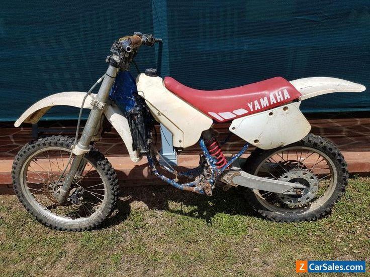 1989 Yamaha YZ125 project or parts rolling frame #yamaha #yz125 #forsale #australia