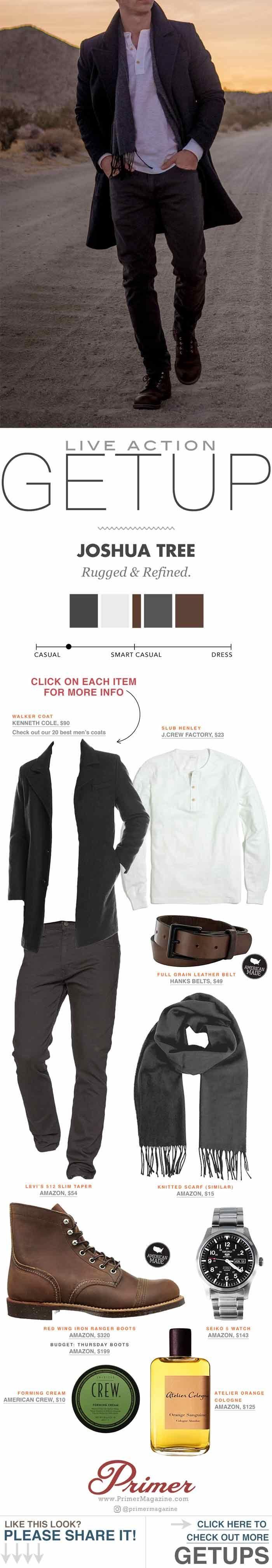 men's fashion inspiration outfit ideas live action getup primer magazine rugged fall winter #MensFashionRugged