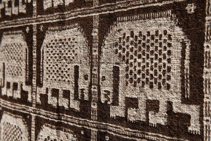 Eleonora Plutyńska, Animals, double-warp textile, recreated by Adolf Jaroszewicz from Janów (near Sokółka), 1956 (based on a design from 1934), collections of the Central Textiles Museum in Łódź, Inventory, Photo: Michał Korta - photo 6