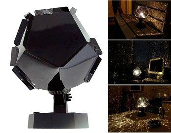 DIY Constellation Star Projector Light (Black)