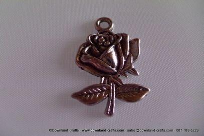 Tibetan Rose Charms