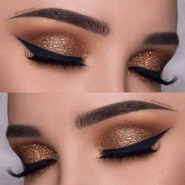 25 glamouröse Make-up-Ideen für Silvester