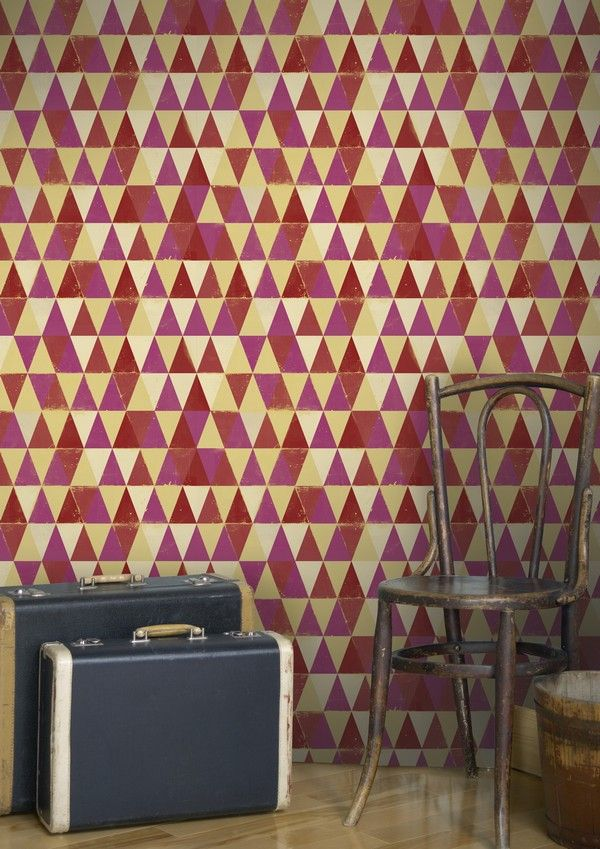 CIRCUS PATTERN Wallpaper from Circus Life Collection by MINDTHEGAP