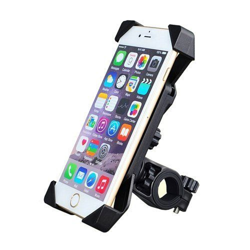 ODIER Bike Phone Mount for Pokemon Go Bicycle Motorcycle Cell Phone Holder for 35 to 7 Smart Phone iPhone 6 6S Plus Samsung S6 S7 Note and GPS Fits Yeti Time GT Trek MTB Road Bikes Study  Black *** Read more  at the image link.