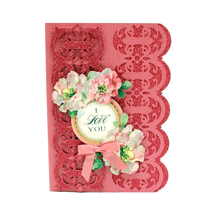 Amazing Card Making Embellishment Ideas Part - 14: Elegant Embellishments II