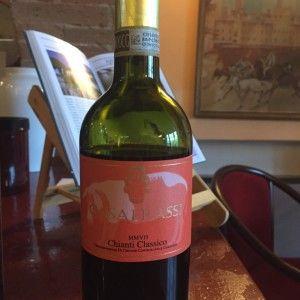 o vinho chianti- chianti classico