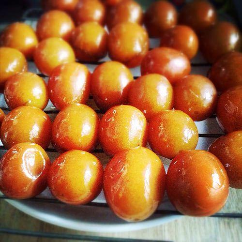 Chinese Candied Kumquats 糖漬金橘