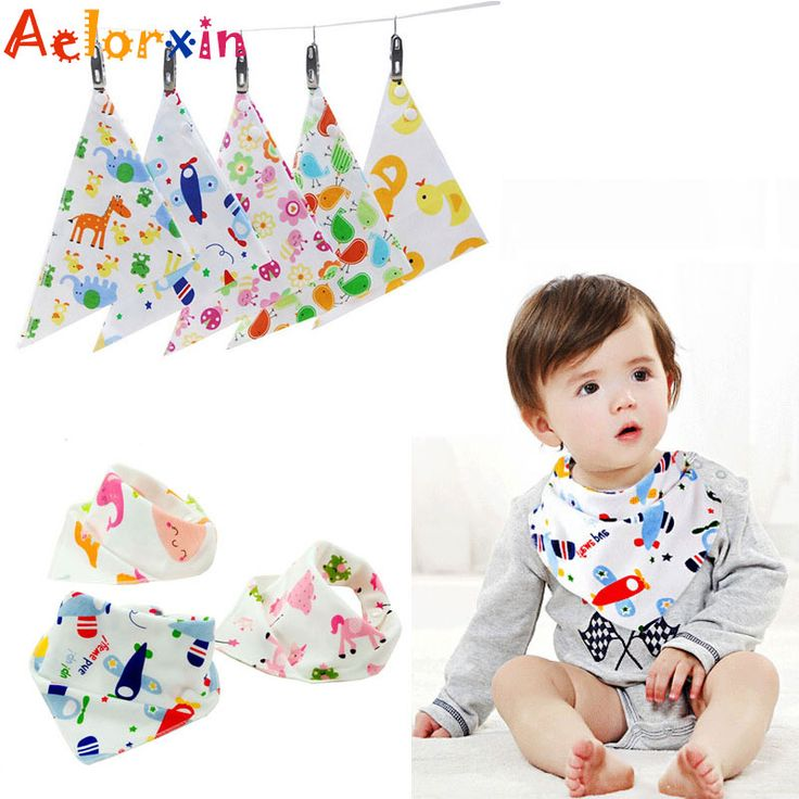 100% Cotton Baby Bibs Cotton Bandana Bibs Infant Babador Saliva Bavoir Towel Baberos Bebes Babadores for Newborn Baby Girls Boys