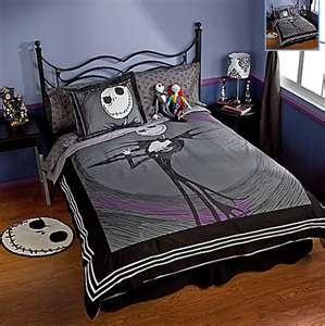 nightmare before christmas bedding room ideas