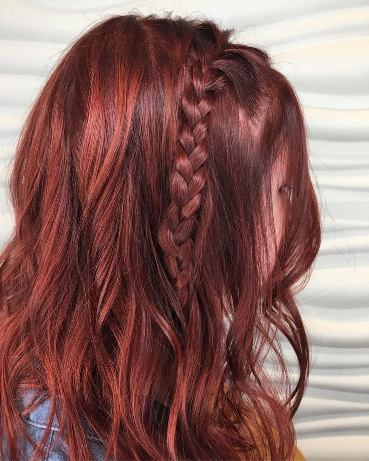 картинки коричнево красные волосы живут повсюду