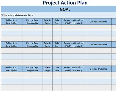 11 best Project Management images on Pinterest Project management - project action plan template