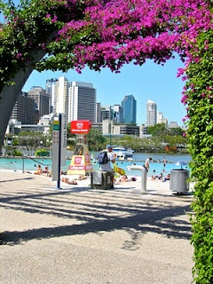 Brisbane, Australia is an amazing city... especially South Bank where the great flood happened in 2011. Our house sit / pet sit was just 10 minutes away from here and we loved being so close.