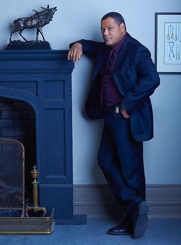 Laurence Fishburne as Agent Jack Crawford  #Hannibal premieres Thursday, April 4 on NBC