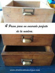 4 Pasos para un encerado perfecto de la madera