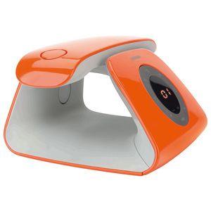 Logicom Rétro Orange Téléphone DECT sans fil avec répondeur (version française)