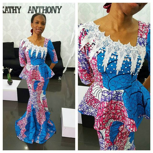 Ankara Skirt and Blouse Style - http://www.dezangozone.com/2015/10/ankara-skirt-and-blouse-style_16.html DeZango Fashion Zone