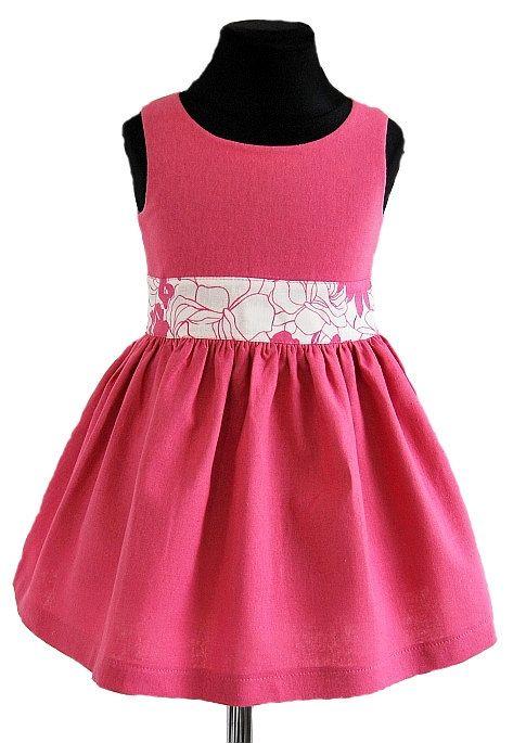 SUKIENKA RÓŻOWA, MARAND COLLECTION - Buy4Kids - sukienki dla dziewczynek