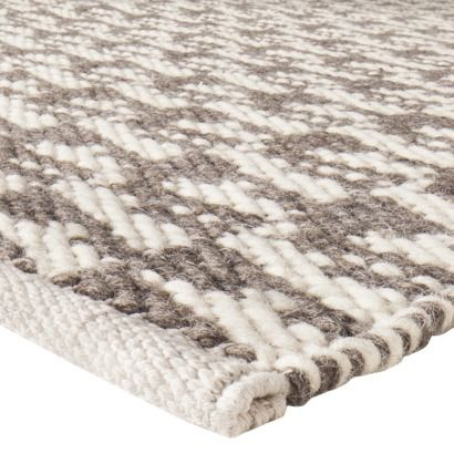Living Room Rugs Target : Nate Berkus™ Hand Woven Area Rug - Gray/Ivory (5'x7') $129 ...