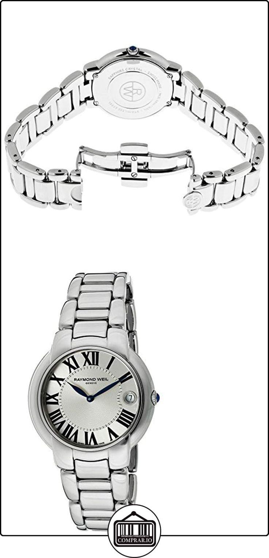 Raymond Weil Jazmín Plata textura de la mujer Dial Acero inoxidable  ✿ Relojes para mujer - (Lujo) ✿