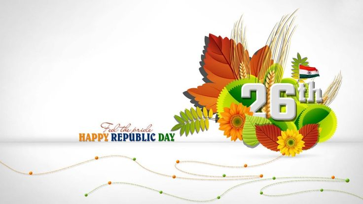 Wishing everyone a very Happy #RepublicDay ... We are proud of India and fellow Indians ... Lets #celebrate this 67th #republic day with great vigour....