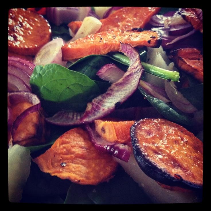 Sweet Potato Salad from Michelle Bridges 12WBT - yummy!