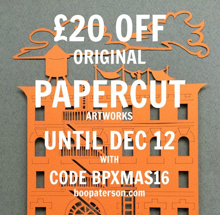Papercut artworks discount code at boopaterson.com