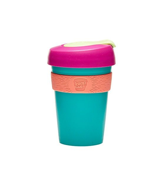 """<em>For the originals. Inventive and light-hearted</em>.   KeepCup Original is the world's first barista standard reusable cup. Made from lightweight plastic its unbreakable and colourful – an easy choice for coffee on the go.  Customise your colour combination and make your KeepCup <a href=""""http://store.keepcup.com/design-your-own/design-your-own.html"""">unique</a>.  - Available in 4oz and 6oz. - Assembled..."""