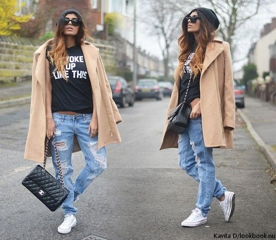 с чем носить рваные джинсы - Поиск в Google