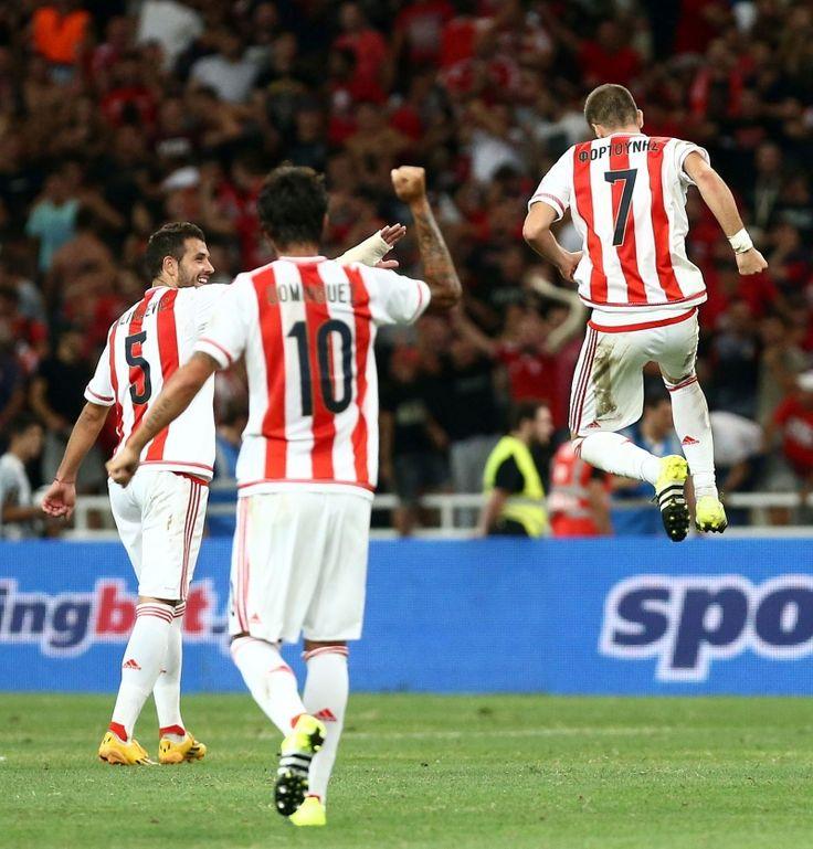 Η τριάδα του κέντρου: Fortounis #7 | Chori #10 | Milivojevic #5 Photostory από το Λεβαδειακός - Ολυμπιακός 0-2 | Olympiacos.org / Official Website of Olympiacos Piraeus