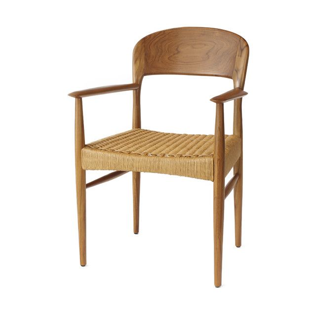 라탄의자 카페 커피숍 우드암체어 티크목 / SN트롤암 : 퍼니플랜   Chair. Furniture. Home decor