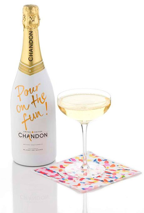 Brides.com: . Limited edition Blanc de Noirs, Holiday 2014 sparkling wine, $24, Chandon