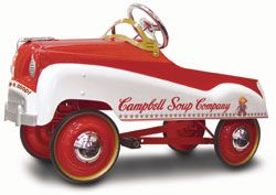 Campbell's Soup Pedal Car