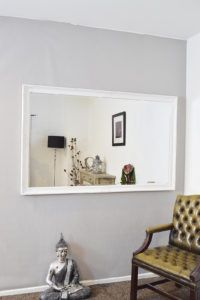 Large White Mirror For Wall