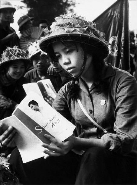 Vietnam War, NVA, Photo: Mai Nam. Mai Nam traveled with the North Vietnamese Army, reporting for the North Vietnamese newspaper Tien Phong. From 1960 to 1975 he photographed the actions of the Vietcong, often using an old camera and rolls of film that were long past their use-by date.