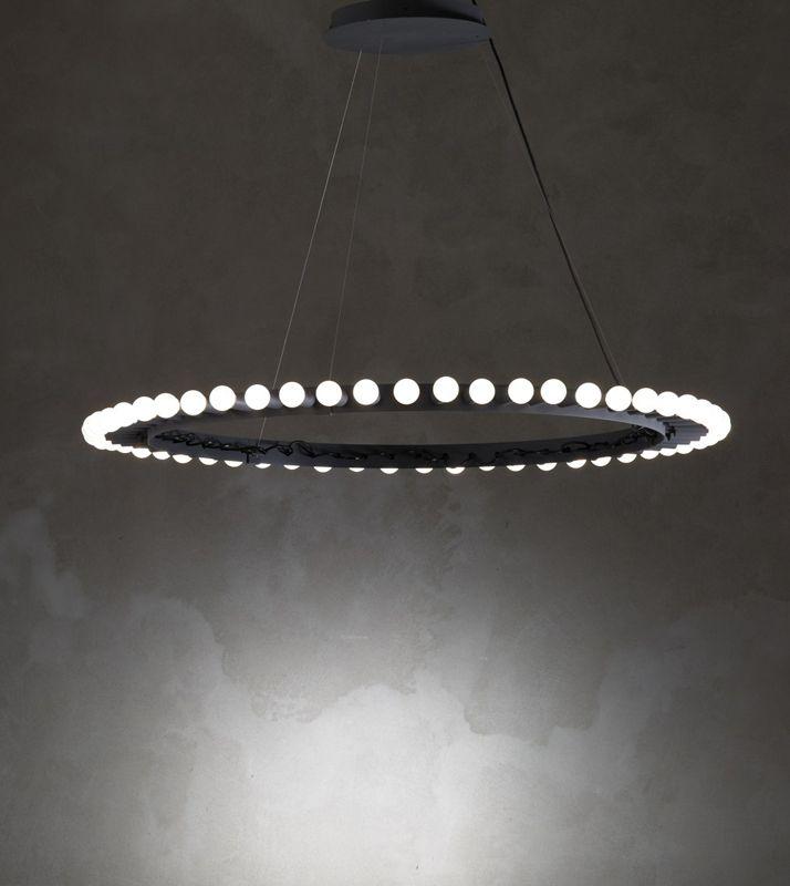 176 best ring chandelier images on pinterest chandelier lighting ceiling lamp big shine ceiling lamp by arik levy 2009 nilufar limited edition diam 100 cm code 3525 designer arik levy aloadofball Image collections