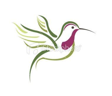Hummingbird Drawings | Abstract Hummingbird Vector Photo | SpiderPic Royalty Free Stock ...