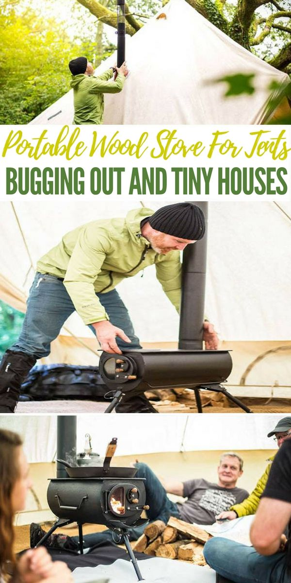 Portable Wood Stove For Tents, Bugging Out And Tiny HousesPortable Wood Stove For Tents, Bugging Out And Tiny Houses - DIY