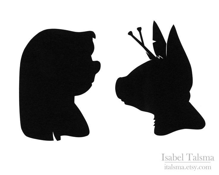 Lilo and Stitch Disney Silhouette Set