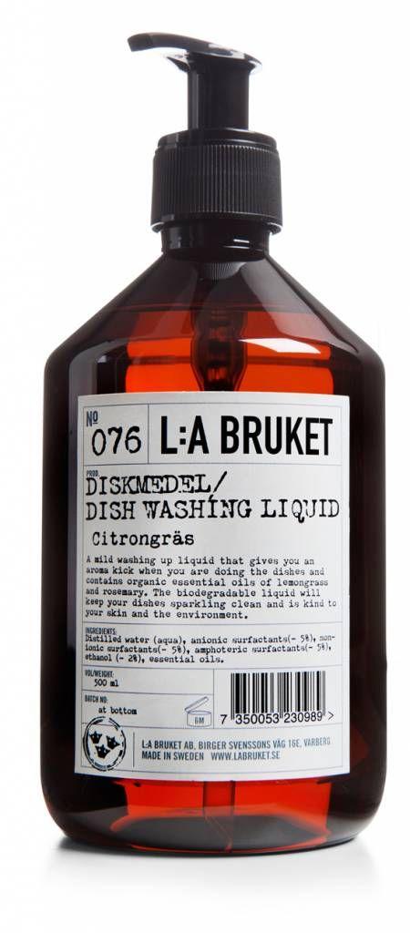 L:A Bruket Afwasmiddel *Lemongrass/Rosemary*