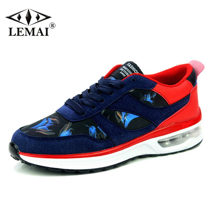 New Patchwork Men Sneakers Autumn Outdoor Breathable Air Cushion  Boy Running Shoes Sport Trainers Height Increasing NSD2020