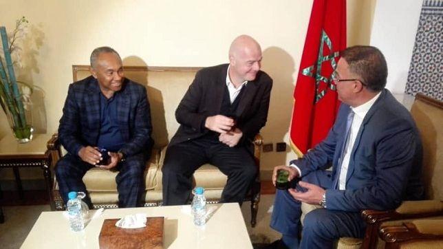 المغرب تطلب استضافة مونديال الأندية 2019 و 2020 موقع سبورت 360 أبلغ رئيس الاتحاد المغربي لكرة القدم فوزي لقجع رئيس الاتحاد الدولي لكرة Talk Show Scenes Talk